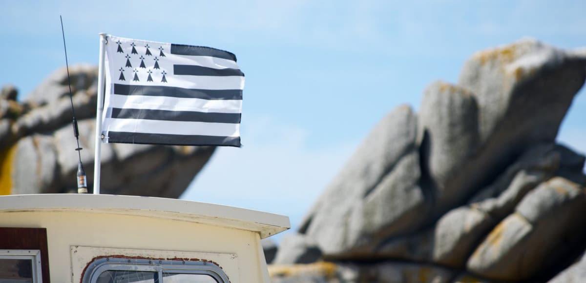 Drapeau breton bateau